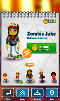 Subway Surfers Хэллоуин