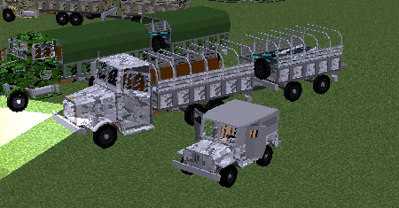 BlackThorne Military Vehicles
