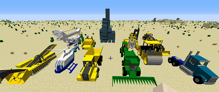 TechStack's Heavy Machinery Mod