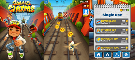 игра Subway Surfers скачать на компьютер - фото 6