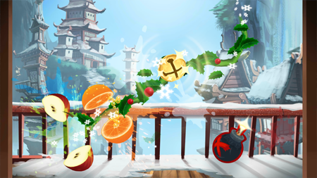 screenshot game Fruit Ninja Free