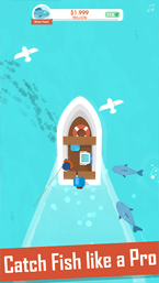 Hooked Inc: Fisher Tycoon скриншот игры