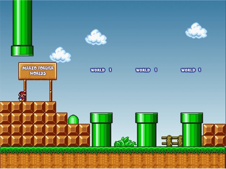 The story and game mechanics remain the same: the italian-american plumber mario must make his way through the